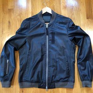 All Saints - Men's leather jacket, size Medium